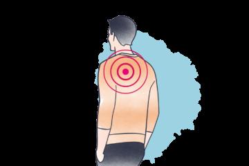 Sodbrennen + Schmerzen zwischen Schulterblättern: Tipps